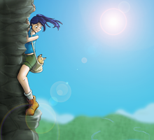 For Crys: Life's a climb... by FEuJenny07