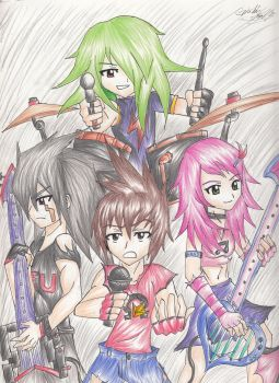 Star Force: Rock Band by SoniaStelar