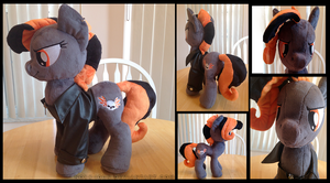 Road Hog Plush by Noxx-ious