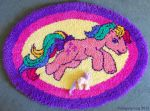 G1 MLP Parasol Latch Hook Rug by MoogleyMog
