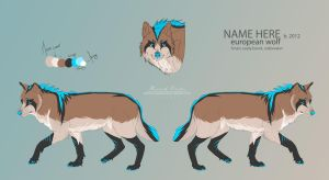 .:[Wolf Adopt]:. SOLD by Zahkiin