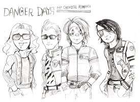 My chemical romace danger days by Chinchillatwork