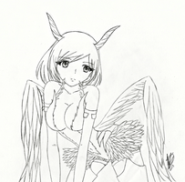 Gift: Winged soldier - starltrubymoon by Koinou-Mitei