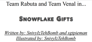 Snowflake Gifts Cover by SnivyIzTehBomb