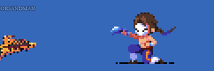 360/365 pixel art : Young Vega - Street Fighter by igorsandman
