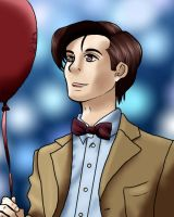 Red Ballon 11th Doctor by Hazardous-Adopts