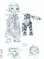 Custom armor sketchy by Igfihorgih