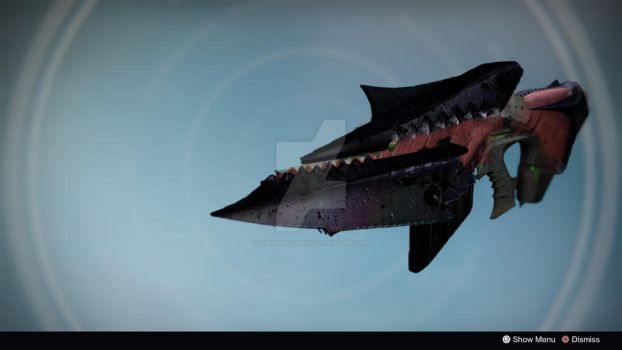 Demon's Tooth: Legendary/Exotic Auto Rifle by shadowequinox