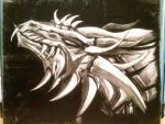 Old Work - Urbolious Scratchboard by DelusionalPuffball