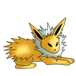 135: Jolteon by izka197