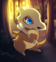 Little Cubone by Jack-a-Lynn