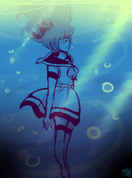 MD #3 ~ Into the Sea by PixelatedFairy