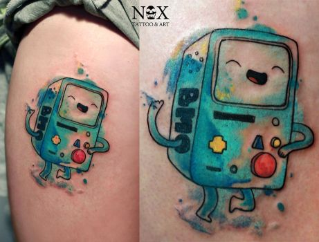 BMO from Adventure Time by mattynox