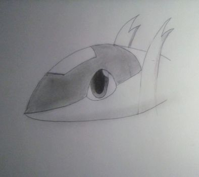 Chibi Latias Drawing by MarthTheBlackLegend