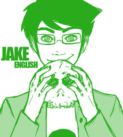 jake english by glitchb0t