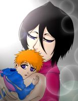 Mommy Rukia by Rawgraphite