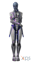 ME3 Liara T'Soni for XPS by Just-Jasper