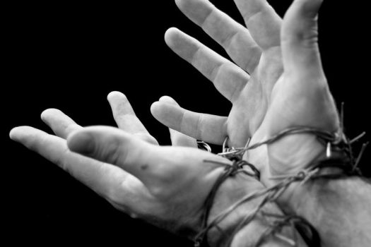 wired hands by Ganayan