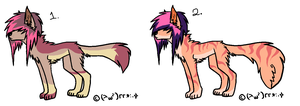 Scene Dogs -AUCTION- by Twine-Adopts