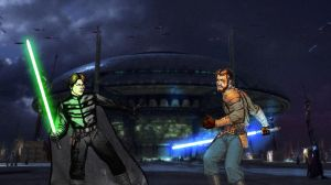 Duel at the Senate Building 2 by oliatoth