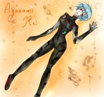 Ayanami Rei by BlackBird321