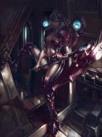 The machine girl by XiaoBotong