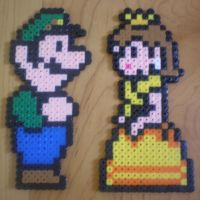 Luigi and Daisy by Tink4574