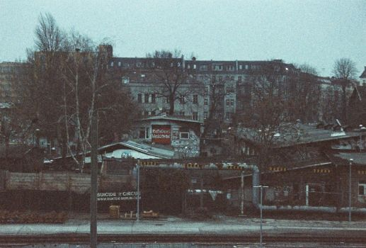Berlin - Experiemental colour 35mm by Livvy-Azzo