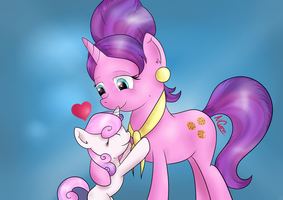 I love my mommy! by Cwossie