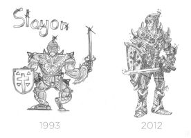 Slayon, Then and Now by mscorley