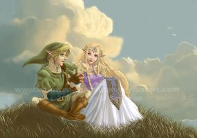 Zelda - Tell Me The Story by Aerawen-Vanhouten