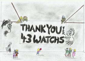 THANK YOU FOR  43 WATCHES by Aioros-sama