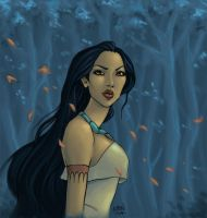 Pocahontas by Wictorian-Art