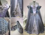Lavender Wedding Dress by Lillyxandra