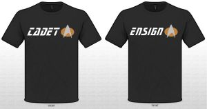 Star Trek Cadet and Ensign Shirts by SikkPup