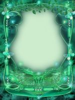 Emerald Frame by juliazip