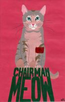 Chairman Meow by ruthey