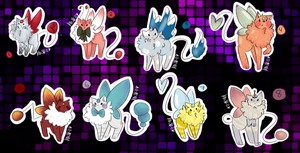 New Peekyu Batch! Auction ((Closed)) by Koneko-Tsundere