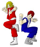 Double Dragon by scottsyorke