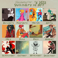 2012 Art Summary by hazumonster