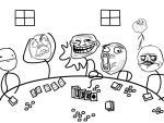 Memes Playing Poker by TheVinnler