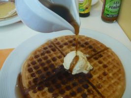 My Plate Of Waffles by KambalPinoy