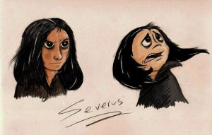 Young Severus by Mitch-el