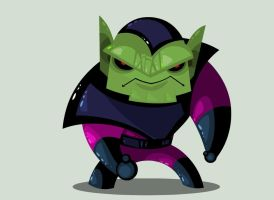 Mr. Skrull by vancamelot