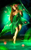 Emerald Beauty by Saphica8