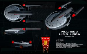 Archer class ortho - USS Libra by unusualsuspex