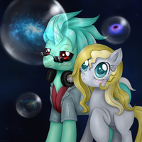 Through time and space by Evomanaphy