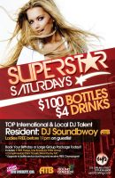 Superstar Saturdays by rjartwork