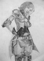 Ashe in pencil by moglet2001