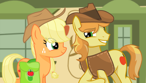.:A Visit to Apple Loosa:. Going Back by SapphireArtemis